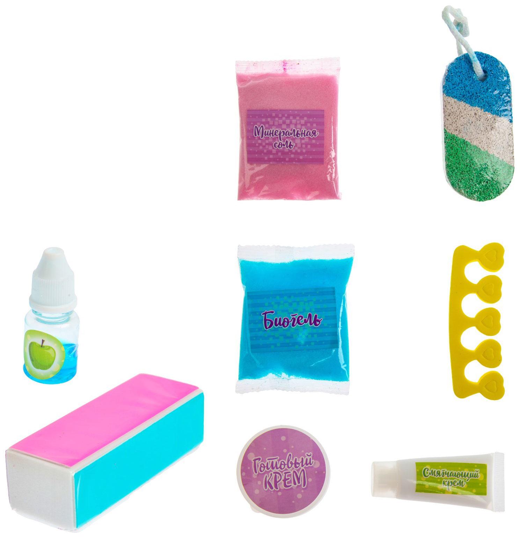 Купить Опыты для девочек Эврики: Girls «SPA-салон. Набор для педикюра» Эврики, Наборы для опытов