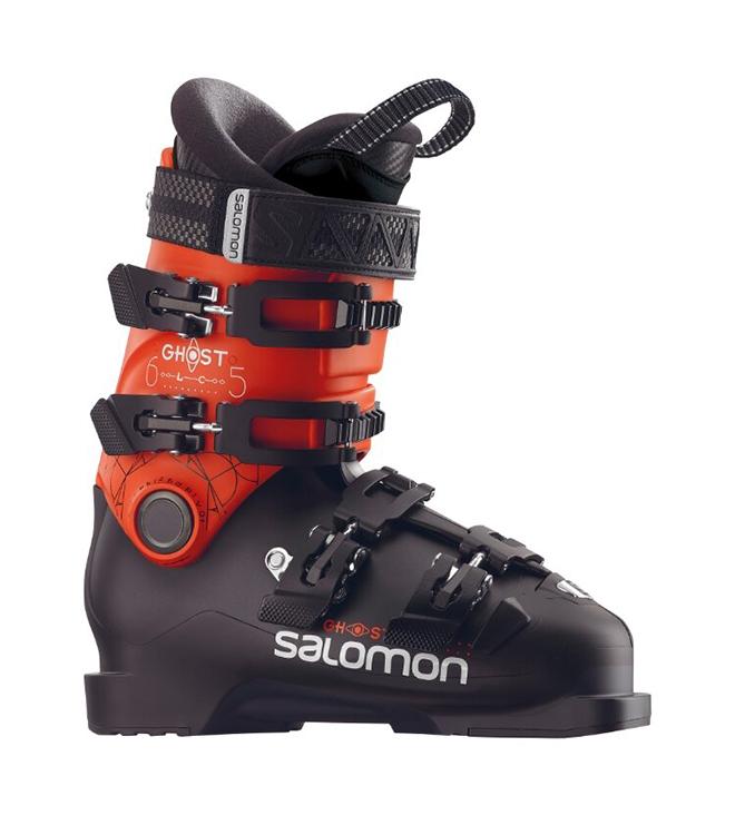 Горнолыжные ботинки Salomon Ghost LC 65 2019, black/orange, 24 фото