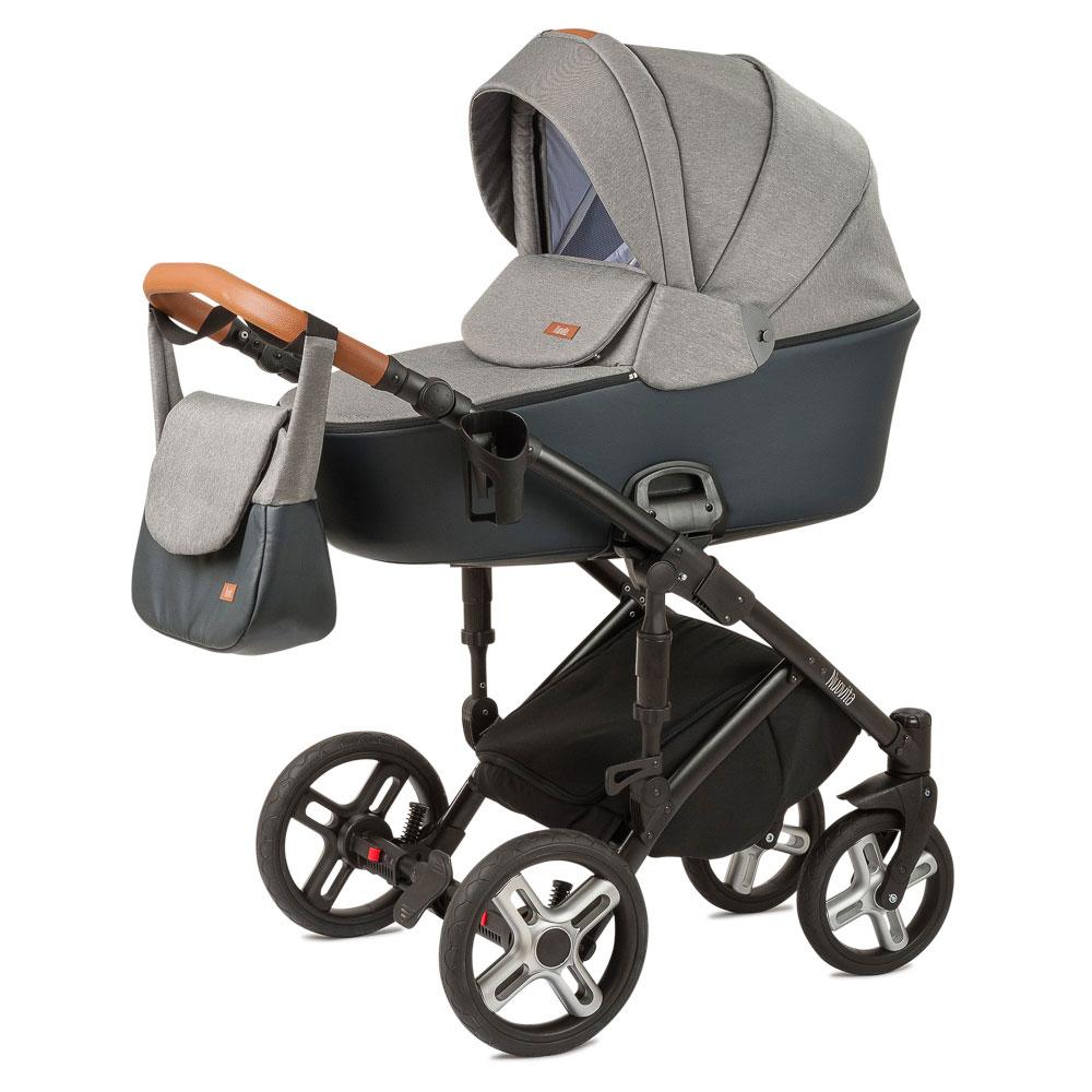 Купить Коляска Nuovita Carro Sport 2 в 1 Grigio nero/Серо-черный, Детские коляски 2 в 1