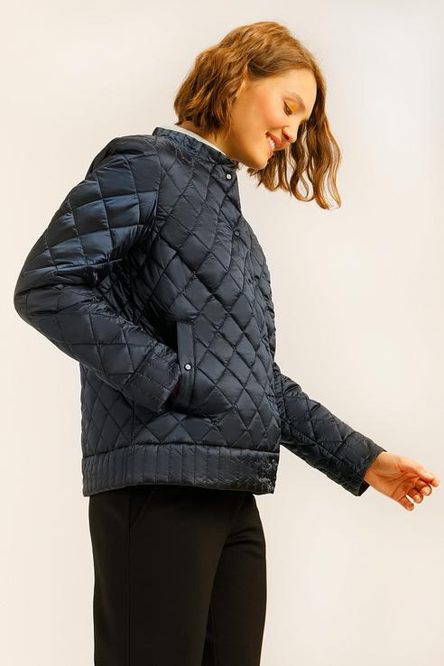 Куртка женская Finn Flare A19-12089 синий L фото