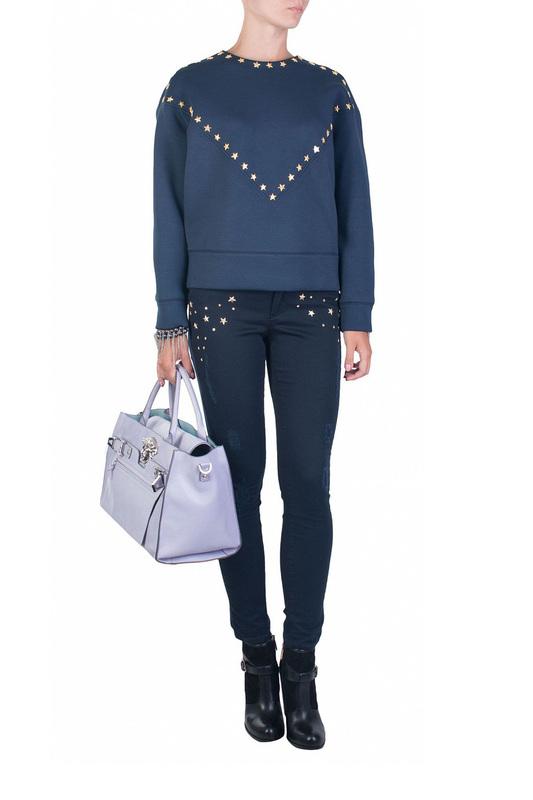 Брюки женские Versace Collection 84392 синие 28 IT
