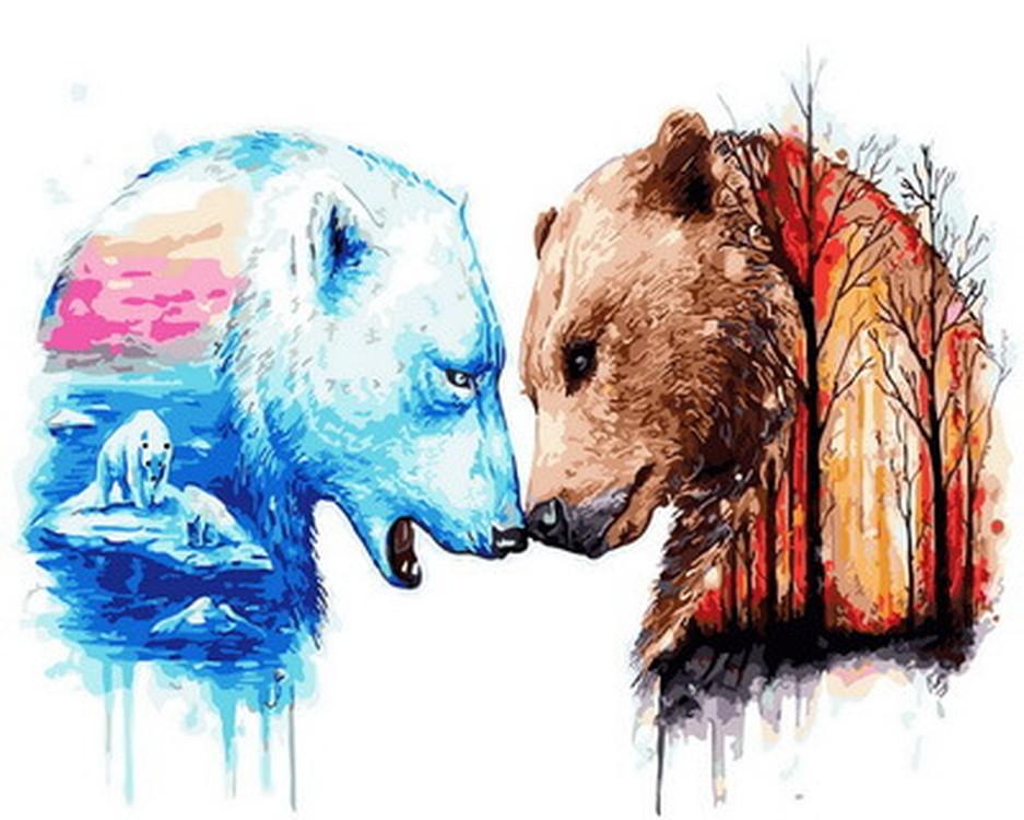 эта красивые рисунки медведей стилистические направления принципе