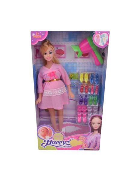 Купить Кукла с аксессуарами Наша Игрушка Будущая Мама 29 См 19 Предметов, Наша игрушка, Классические куклы