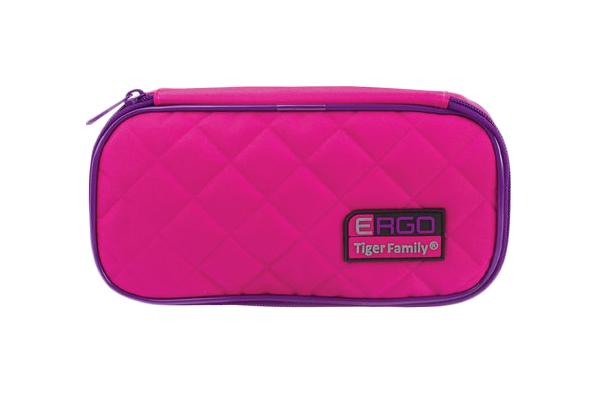 Пенал TIGER FAMILY 227012 Розовый 23x7x11 см
