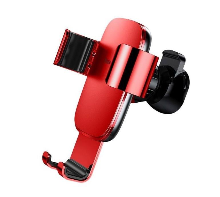 Автомобильный держатель для телефона в дефлектор Baseus Metal Age Gravity Car Mount
