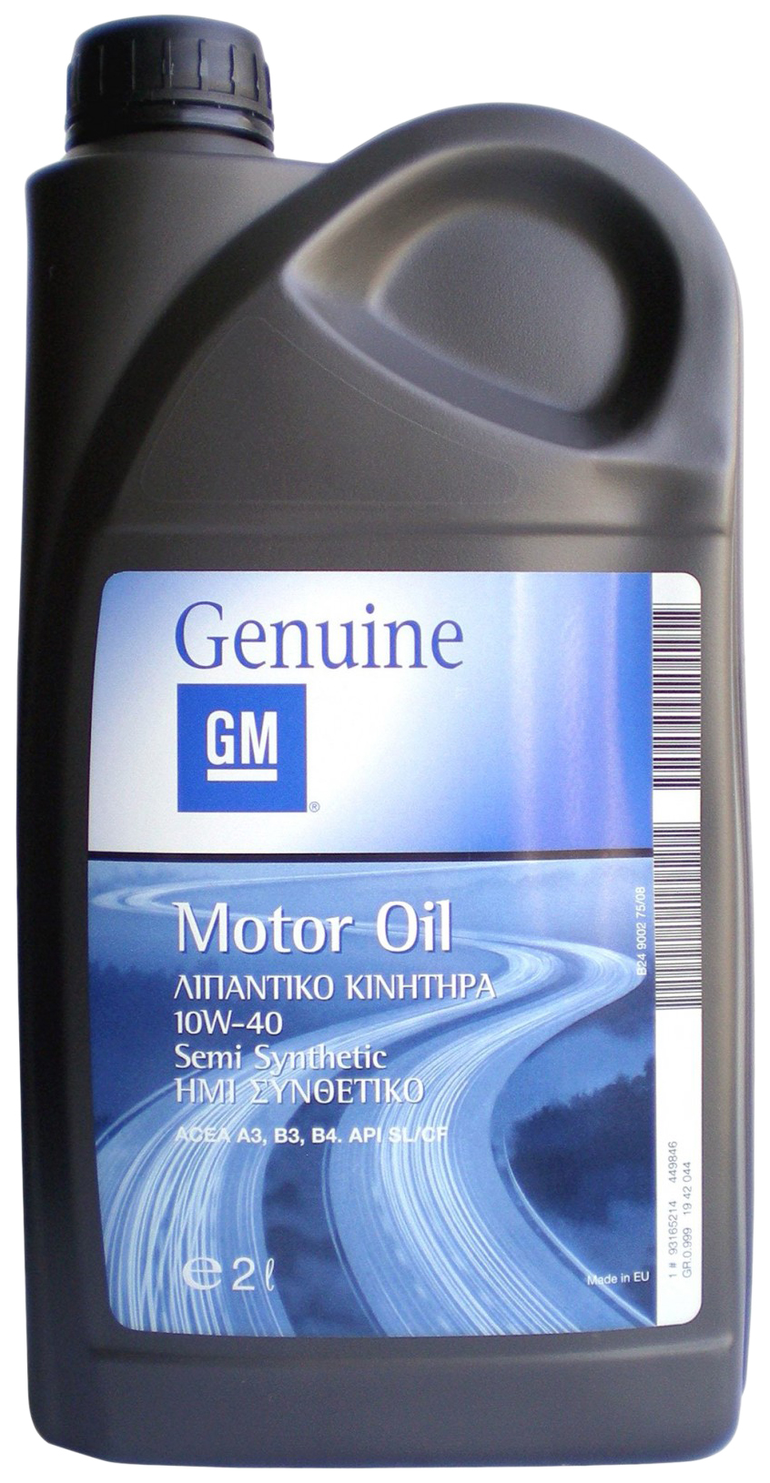 Моторное масло General Motors Semi Synthetic 10W-40 2л