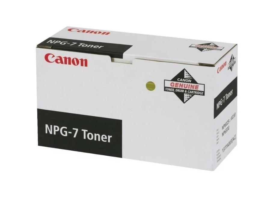 Тонер для лазерного принтера черный CANON NPG-7