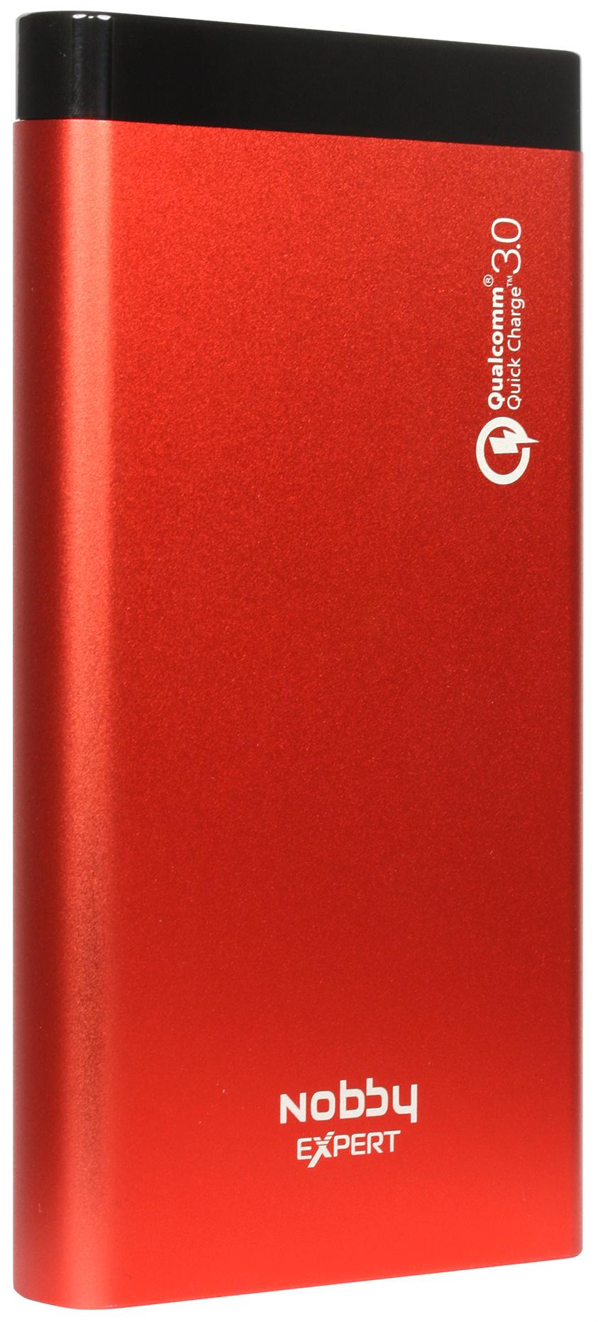 Внешний аккумулятор Nobby Eхpert 10000 мА/ч (NBE-PB-10-04) Red