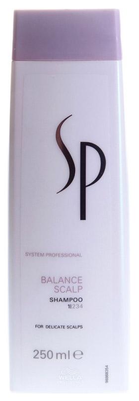 Купить Шампунь Wella System Professional Balance Scalp Shampoo 250 мл, SP Balance Scalp Shampoo, Wella SP