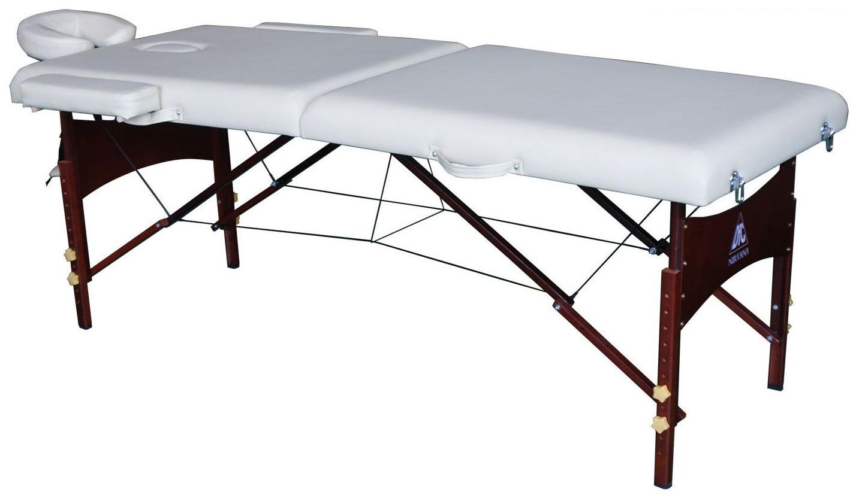 Массажный стол DFC Nirvana Relax бежевый фото
