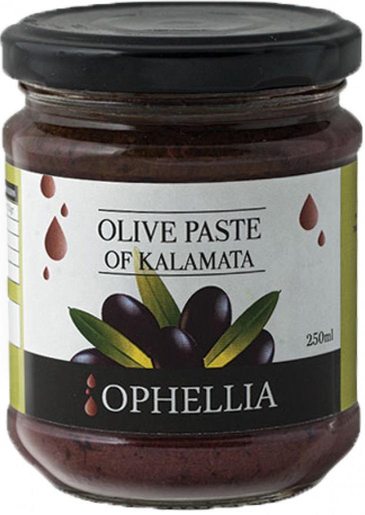 Паштет из черных оливок Ophellia каламата 212 мл