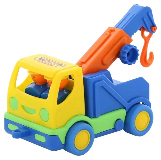 Купить Игрушки, Автомобиль-эвакуатор Wader Мой первый грузовик, Игрушечные машинки
