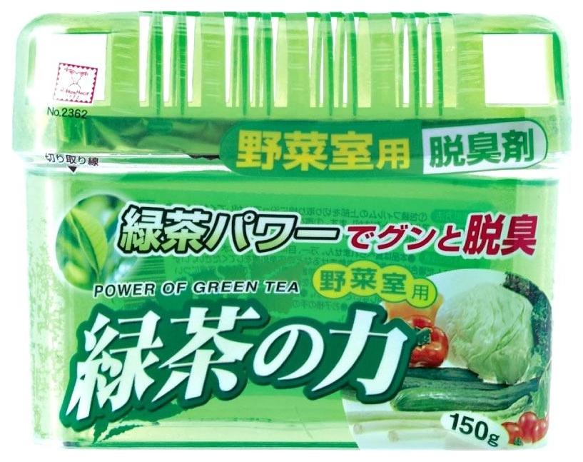 Нейтрализатор запахов Kokubo дезодорант-поглотитель с экстрактом зеленого чая 150 г