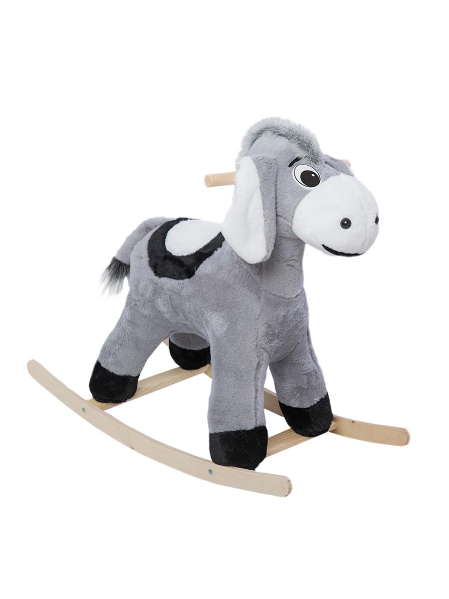 Купить Качалка ToysGo Ослик серый, Качалки детские