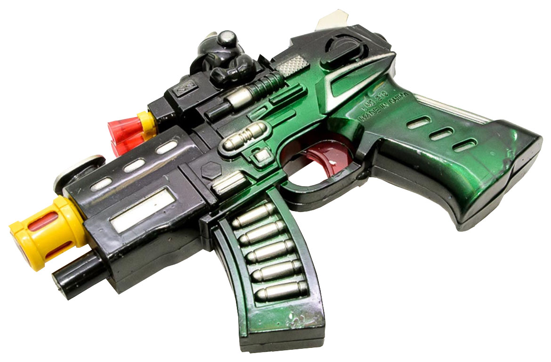 Купить Огнестрельное игрушечное оружие Гратвест Автомат 17 см, Gratwest, Стрелковое игрушечное оружие
