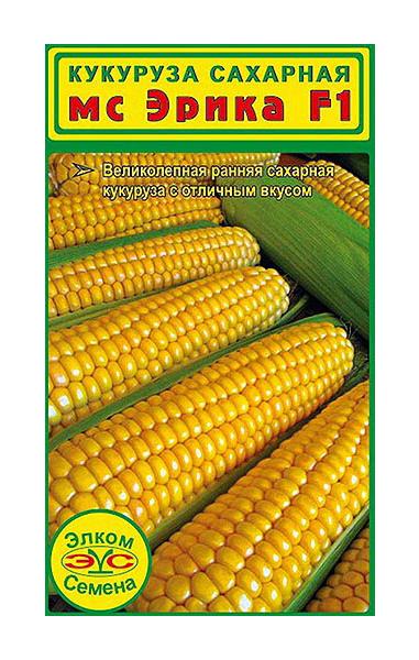 Семена Кукуруза сахарная Эрика МС F1 , 4 г Элком Семена