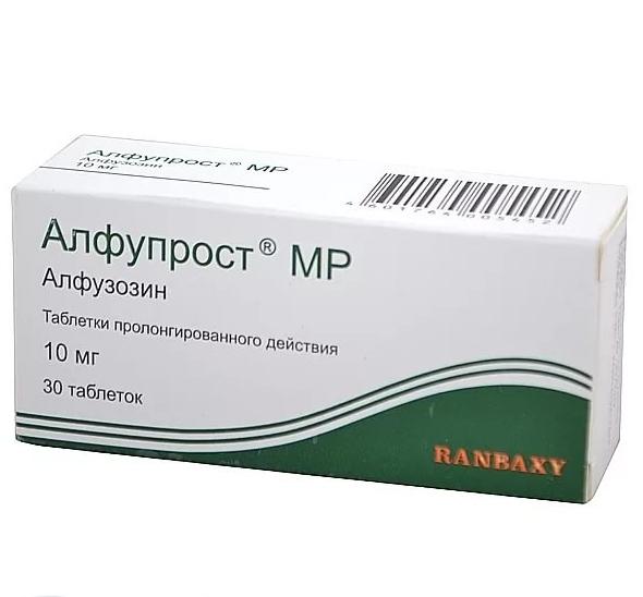 Алфупрост МР таблетки 10 мг 30 шт.