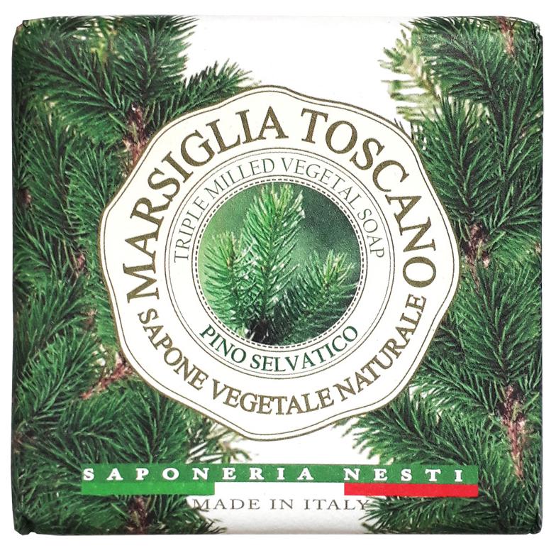 Косметическое мыло Nesti Dante Marsiglia Toscano Pino Selvatico Vegetal Soap 200 г