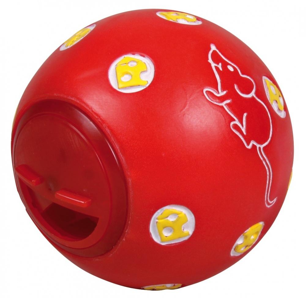 Мяч для лакомств Trixie пластиковый для кошек