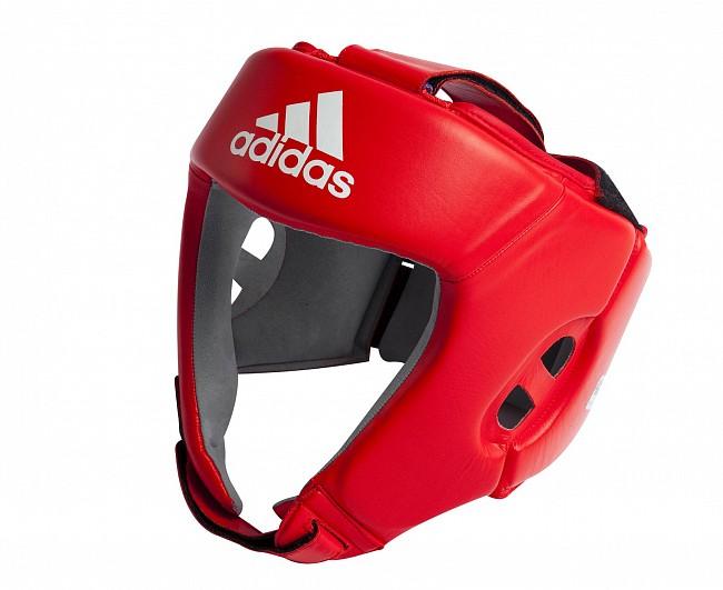 Шлем боксерский Adidas AIBA красный XL