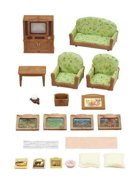 Игровой набор Sylvanian Families Гостиная и телевизор фото