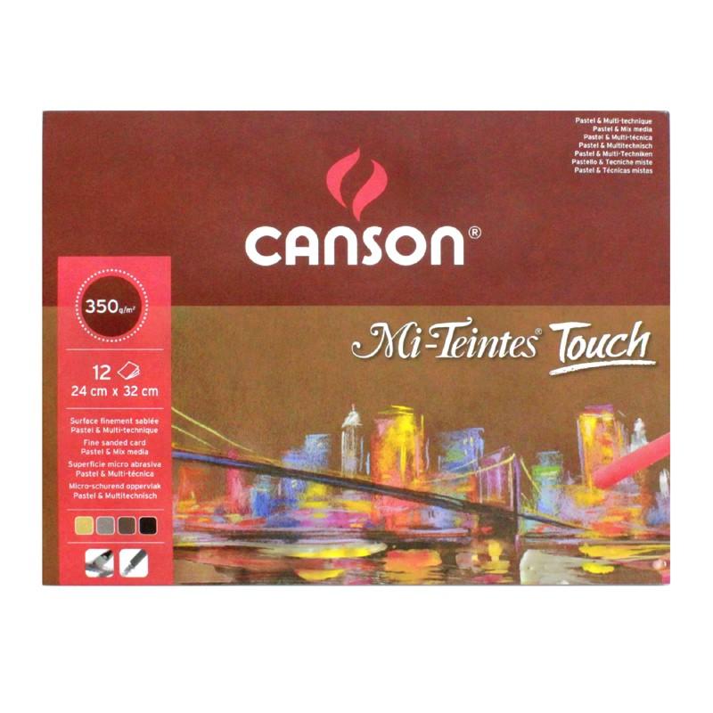 Canson Блок бумаги для пастели 4 цветов Mi-Teintes Touch CANSON фото