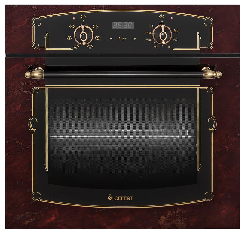 Встраиваемый электрический духовой шкаф GEFEST ДА 622-02 К55 Brown