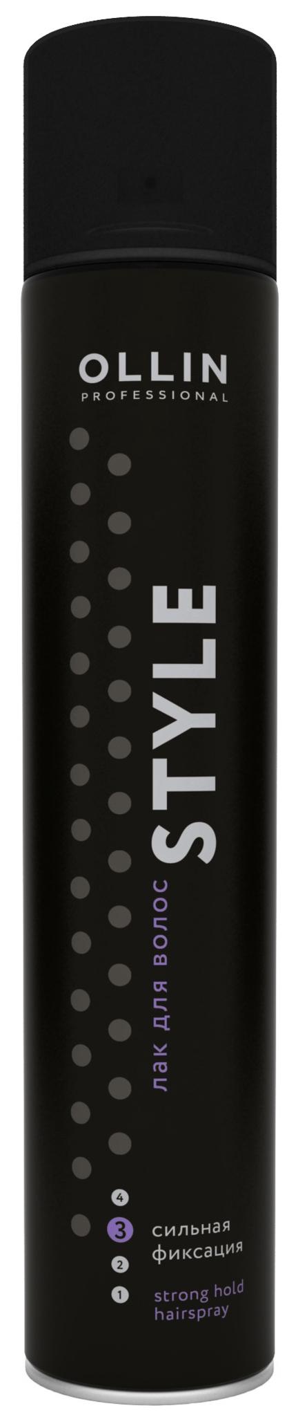 Лак для волос Ollin Professional Style Strong Hold Hairspray 500 мл