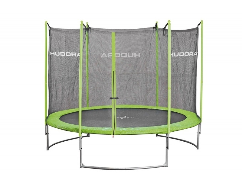Батут Hudora Family 65630/01 с сеткой 300 см, green фото