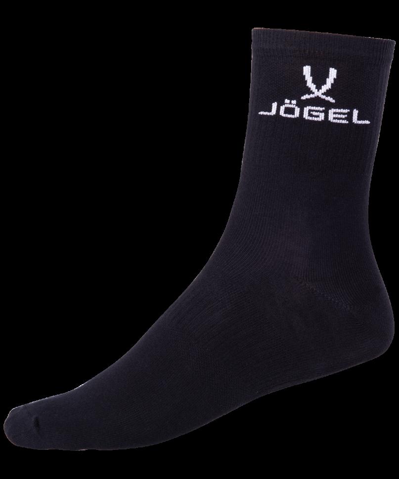 Носки Jogel JA 005, черно белые,