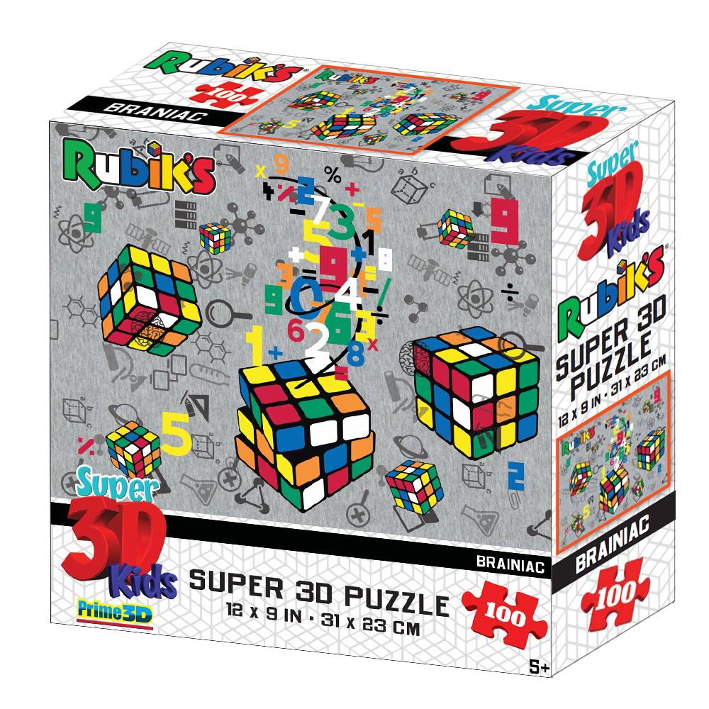 Купить Стерео пазл PRIME 3D 13639 Кубическая вселенная, 3D пазлы