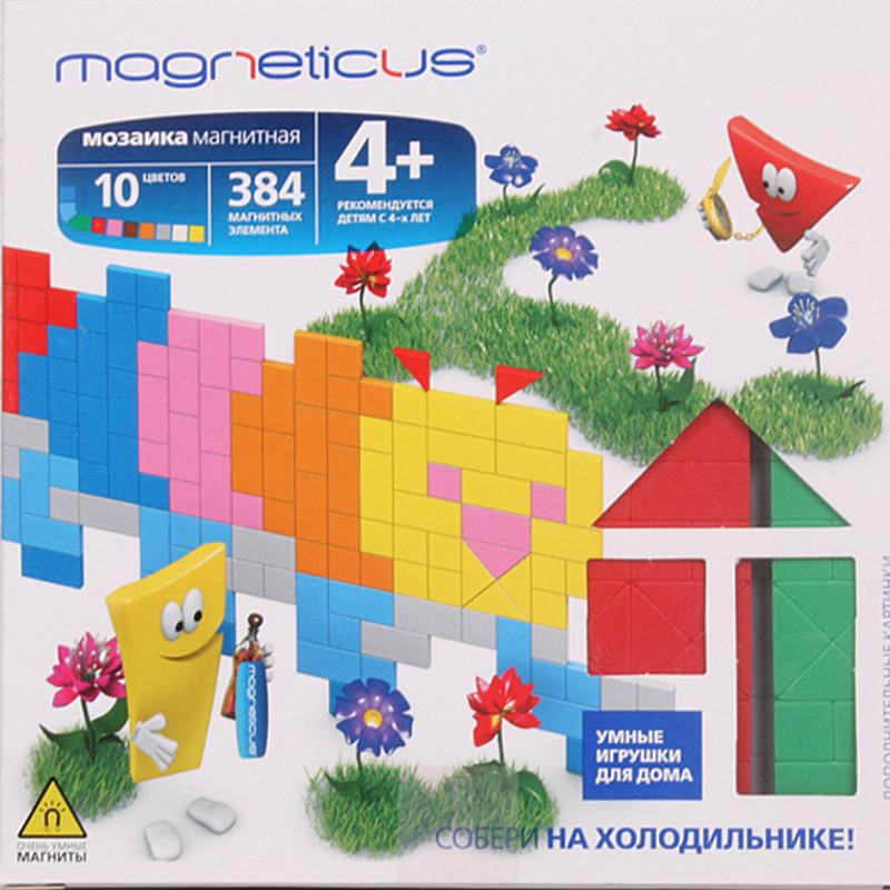 MAGNETICUS Миди мозаика магнитная Гусеница, 384 элемента
