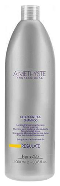 Купить Шампунь для жирной кожи головы FarmaVita Amethyste Regulate Sebo Controll Shampoo 1000 мл