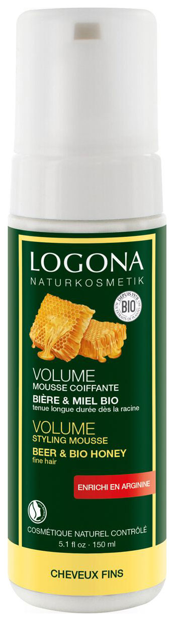 Средство для укладки волос Logona Объем