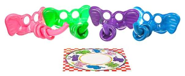 Купить Семейная настольная игра Фортуна Веселые кольца Ф77176, Семейные настольные игры