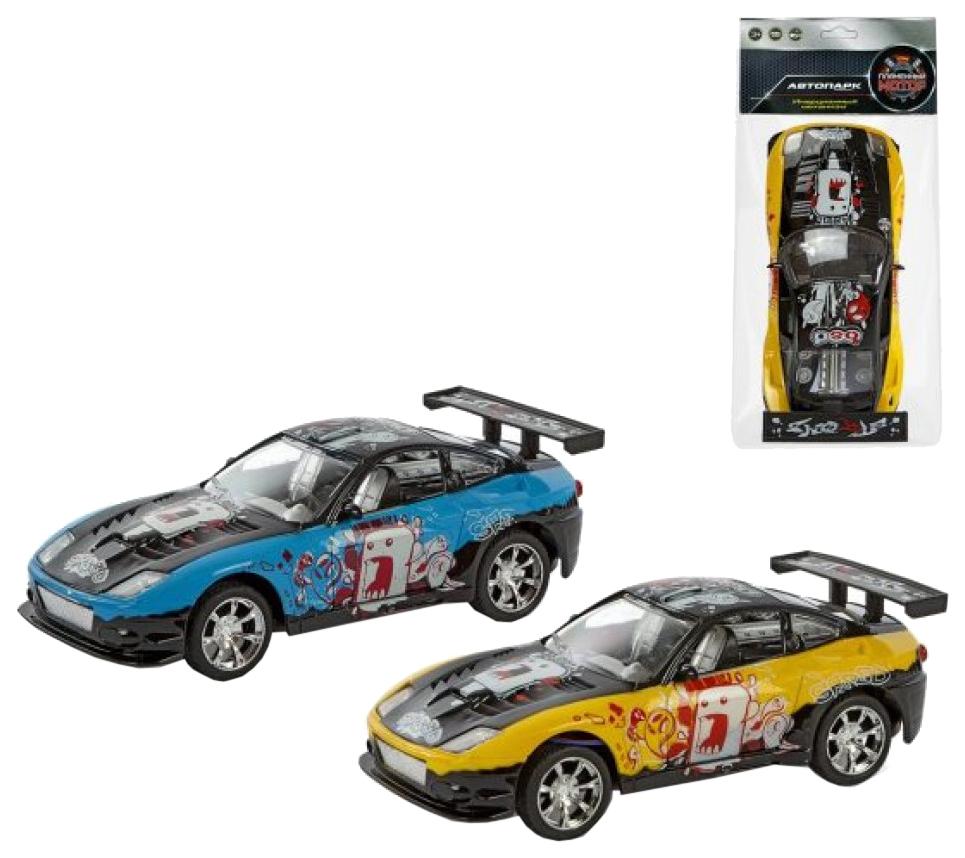 Купить Легковая машина Shantou Gepai со звуковыми и световыми эффектами 18 см 87419, Пламенный мотор,