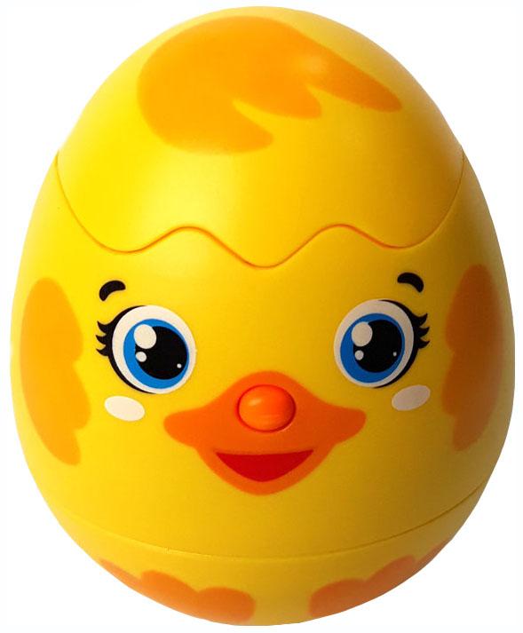 Купить Интерактивное животное Азбукварик Яйцо-сюрприз Утенок 28216-9, Интерактивные мягкие игрушки