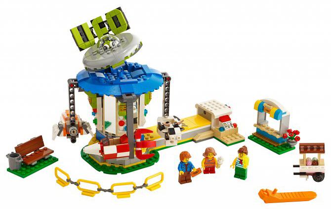 Конструктор LEGO Creator Ярмарочная карусель Creator Fairground
