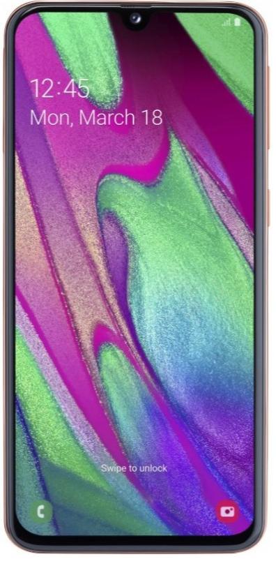 Смартфон Samsung Galaxy A40 (2019) 64Gb Red (SM-A405FM) фото