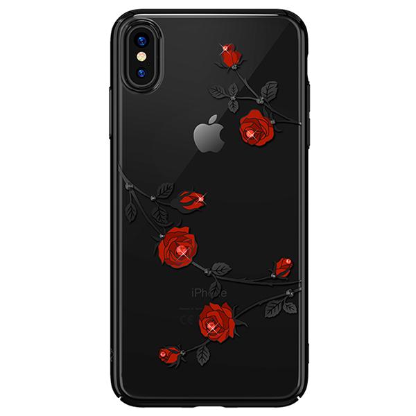 Чехол Kingxbar с Swarovski Blossom Series для Apple iPhone Xs Max фото