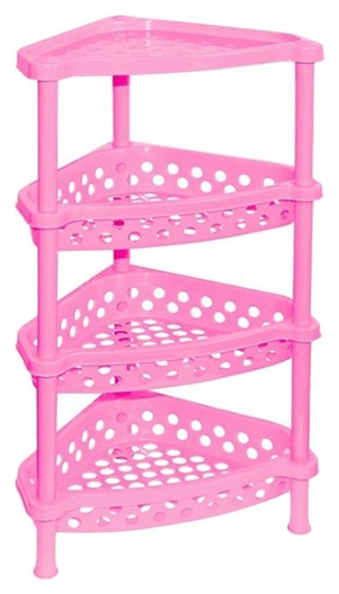 Этажерка Violet Violet 1604/9 37х28х73 см, розовый фото