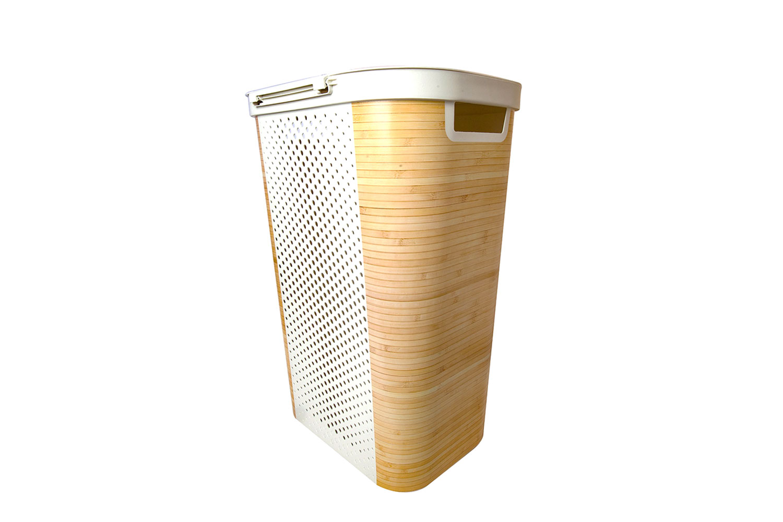 Корзина Infinity Bamboo бельевая 60 л, 1 шт,