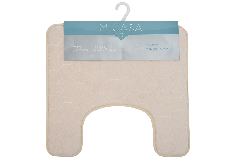 Коврик для туалета 50х50 см MiCasa Juwel