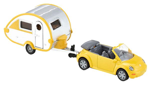 Купить Игрушка SIKU Машина с домом на колесах мини (1629), Игрушечные машинки