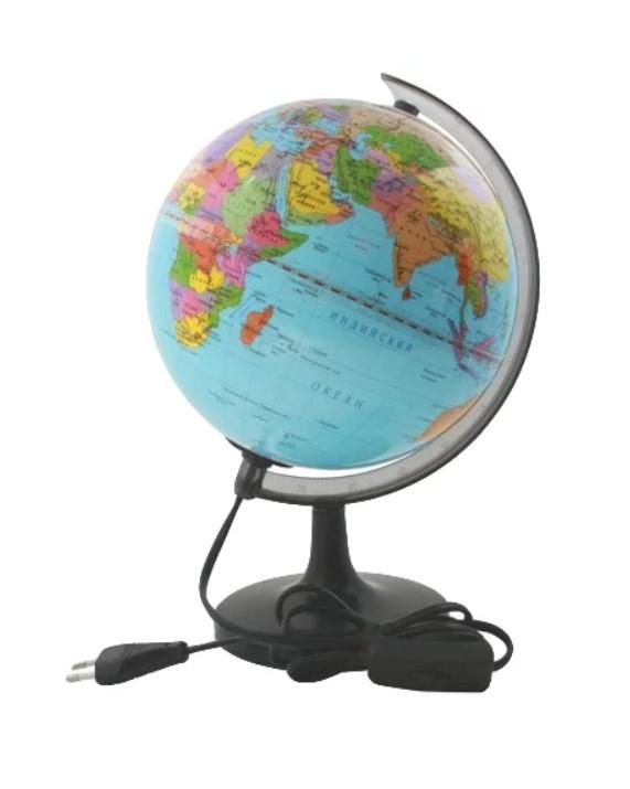 Купить Глобус физический с подсветкой 20 см ROTONDO, Глобусы
