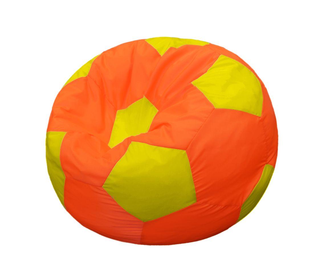 Кресло-мяч Pazitif Мяч Пазитифчик, размер L, оксфорд, оранжево-желтый фото