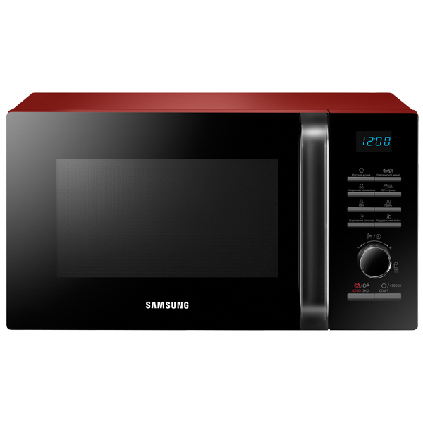 Микроволновая печь с грилем Samsung MG23H3115QR Red фото