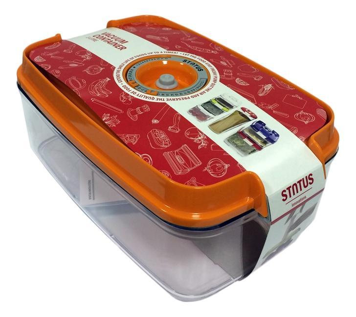 Контейнер для вакуумного упаковщика STATUS 178619 VAC-REC-30 Orange