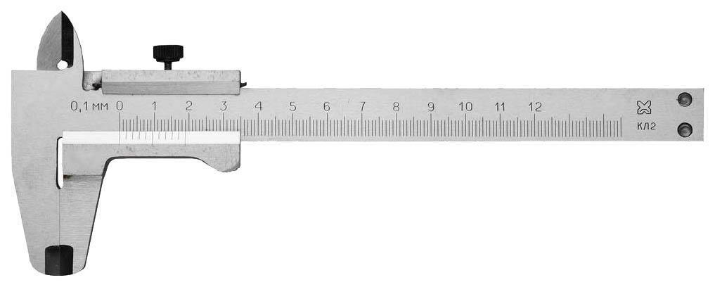 Штангенциркуль столярный Пик 3445-125 фото