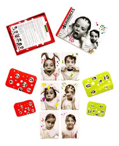 Купить Семейная настольная игра Djeco Grimaces, Семейные настольные игры
